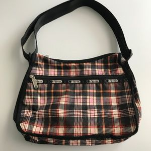 LeSportsac Classic Hobo Plaid Shoulder Bag